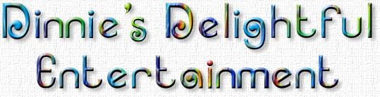 Dinnie's Delightful Entertainment logo
